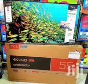 TCL Uhd Android Tv 55 Inches   TV & DVD Equipment for sale in Dar es Salaam, Ilala