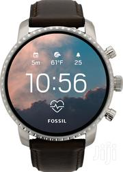 Fossil Smartwatch Q Explorist HR - 4th Generation | Smart Watches & Trackers for sale in Dar es Salaam, Ilala