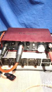 Soundcard Focusrite 2|4 | Audio & Music Equipment for sale in Manyara, Mbulu