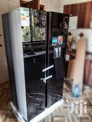 Hisense Refrigerator Side By Side 514L Black Glass | Kitchen Appliances for sale in Dar es Salaam, Kinondoni