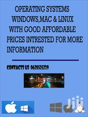 Windows 10,8,7 Mac Linux | Computer & IT Services for sale in Dar es Salaam, Ilala