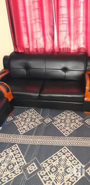 Nauza Sofa Nyeusi Ya Ngozi | Furniture for sale in Dar es Salaam, Ilala