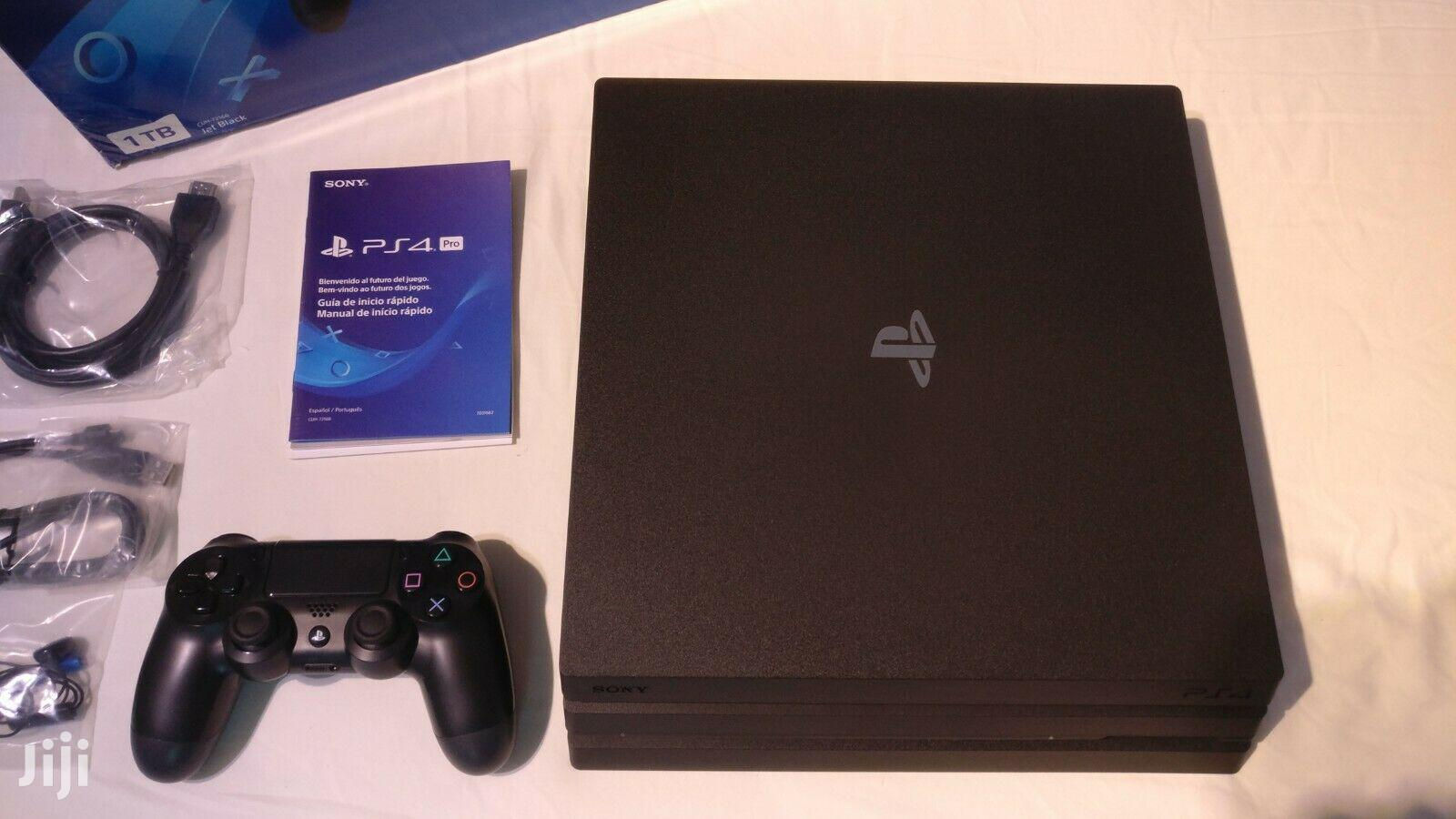 Archive: Brand New Playstation 4 Pro + Console + Games