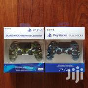 Sony PS4 Official Dualshock 4 V2 Wireless Controller - Jet Black   Video Game Consoles for sale in Dar es Salaam, Ilala